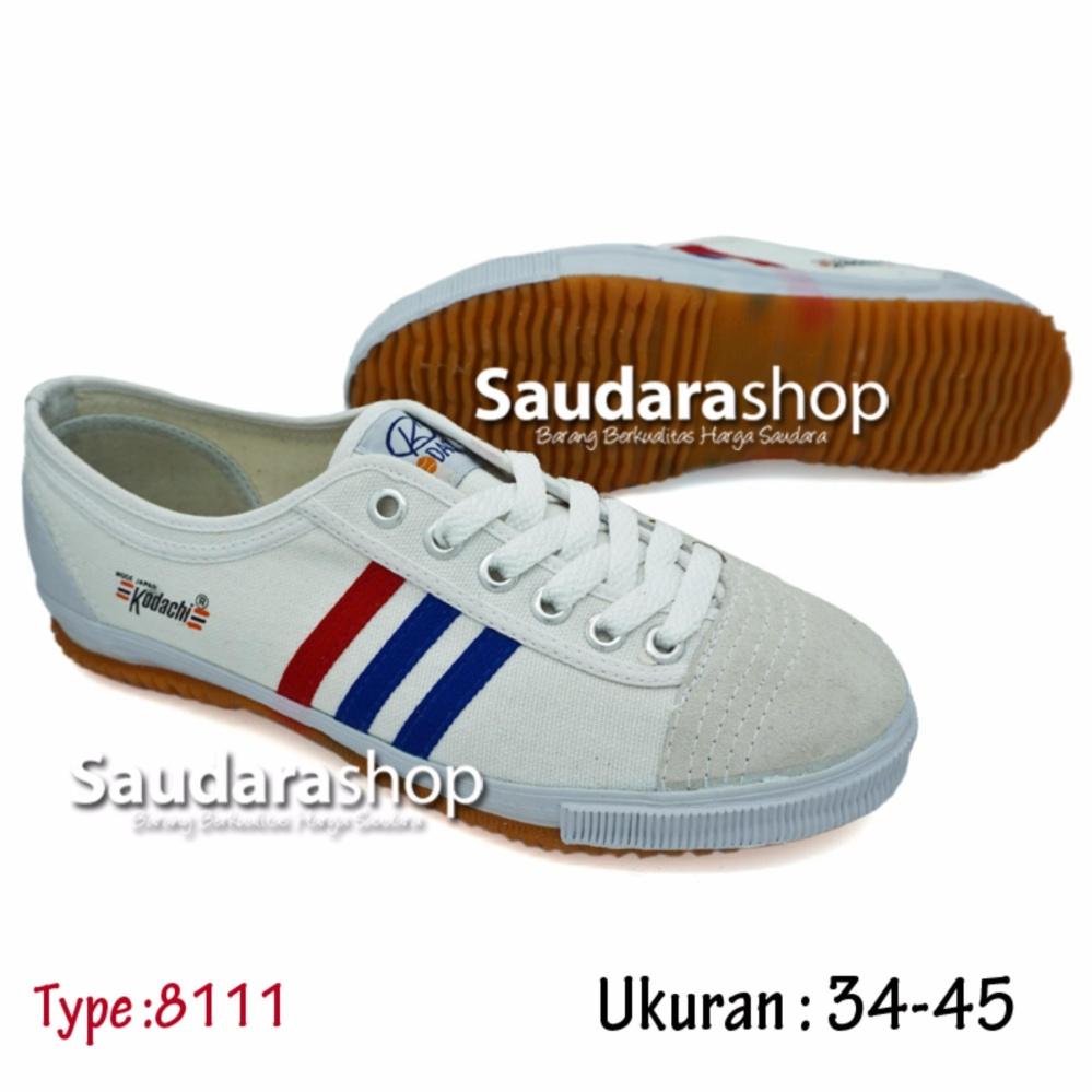 Kodachi 8111 Sepatu Capung Putih  [34-45]